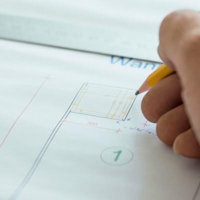 Planung und Skizzierung